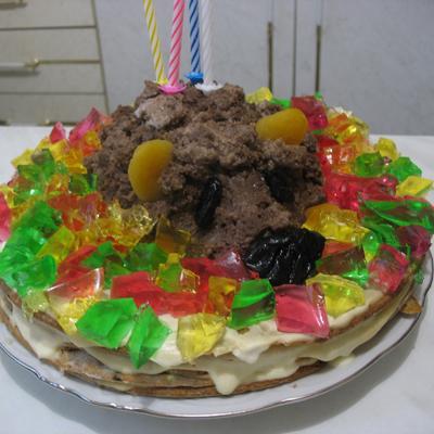Торт Еж осенний
